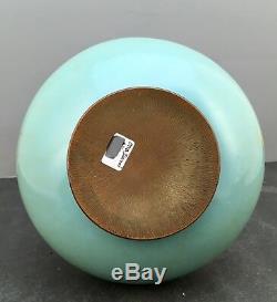 0Japanese Meiji Wireless Cloisonne Vase attrib. To Ota Jinnoei