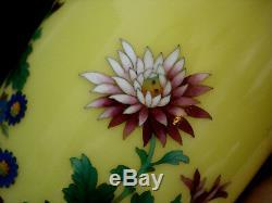 12 Japanese Showa Period Cloisonne Vase