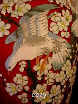 18 H Japanese Meiji Period Cloisonne Vase