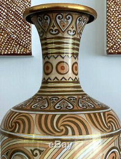 A Large Japanese Art Deco Cloisonne Vase
