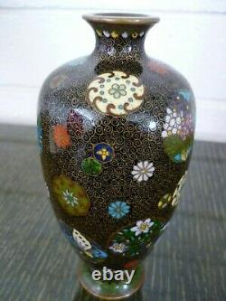 A Very Fine Antique Japanese Cloisonne Vase