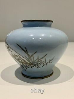 A master piece Antique Japanese Cloisonne vase Signed-Hattori Tadasaburo. Meiji