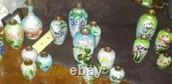Antique Japanese Meiji 5 Ginbari Cloisonné Vase, by Ota Rare