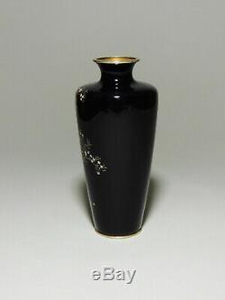 Antique Japanese cloisonne vase Hayashi kodenji Style