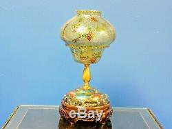 Exquisite Chinese/japanese Porcelain/cloisonne Vase Lamp Plique-a-jour 15 Tall