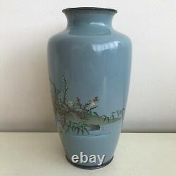 Fine Antique Japanese Cloisonne Enamel Meiji Period Vase
