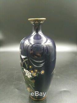 Gorgeous Japanese Cloisonne Meiji Period