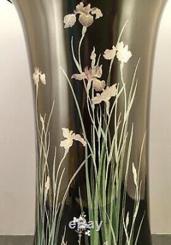 Important Japanese Meiji Cloisonne Vase