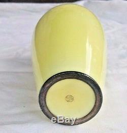 Japanese Ando Cloisonne Sterling Vase