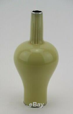 Japanese Ando Jubei (1876-1953) signed / boxed wireless cloisonné vase