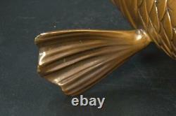 Japanese Copper Carp Flower Vase BV171