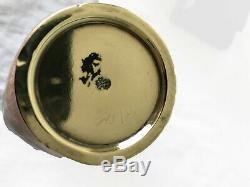 Japanese Ginbari enamel cloisonne vase Fish vase Kumeno Teitaro Meiji period