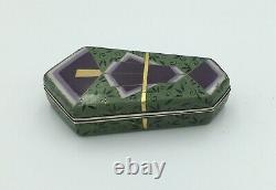 Japanese Meiji Bonbonniere Cloisonne Box By Hayashi Tonigoro