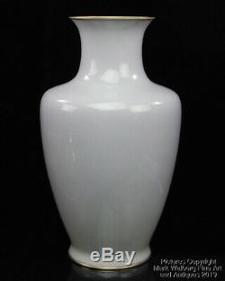 Japanese Wireless Cloisonné Enamel Vase, Mount Fuji Design, Attributed to Ando