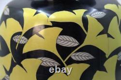 Japanese cloisonne enamel vase Japan sippou Hiroaki Ota SVG06