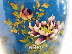 Japanese extraordinary cloisonne Vase