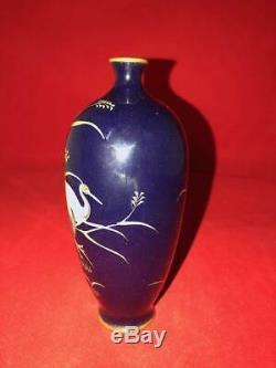 Meiji Period Japanese Cloisonne Vase