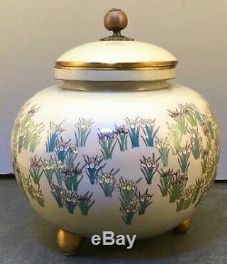 Museum Quality Japanese Meiji Cloisonne Jar