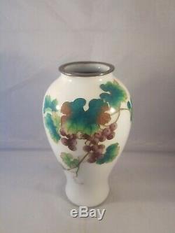 Rare Kawade Shibataro Cloisonne Japanese Vase