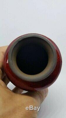 Signed jin bari japanese cloisonne vase. Amazing condition
