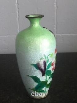 Stunning Antique Japanese Cloisonné Vase