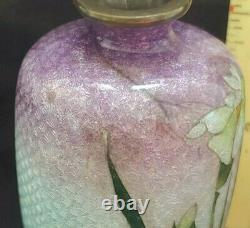 Two Unsigned JAPANESE Cloisonne Ginbari Vases 3.25 & 2.25