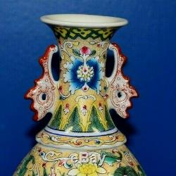 Vintage Chinese Porcelain 10 Vase-asian-japanese-oriental-cloisonne