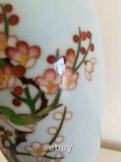 Vintage Japanese Cloisonne Enamel Vase